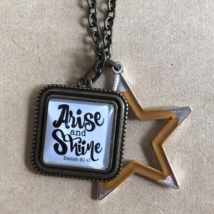 NEW long chain star and Arise & Shine Necklace